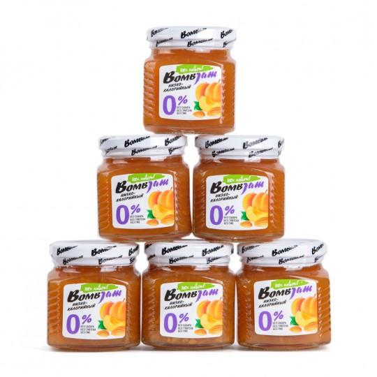 Bombbar (EN) / Products / Low-calorie jams / Apricot-almondArtboard 1